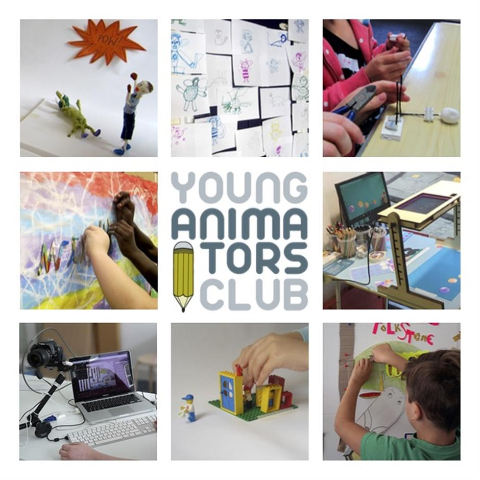 Young Animators Club at Block 67