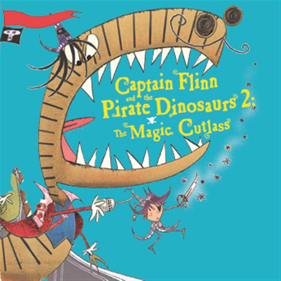 Captain Flinn and the Pirate Dinosaur 2: The Magic Cutlass