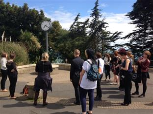 Sacconi Festival Folkestone Artworks tour