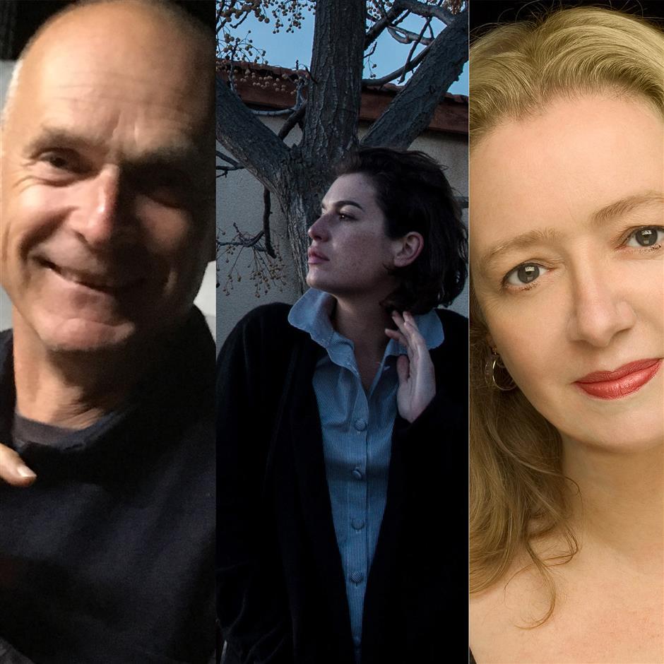 Jeremy Seal, Barbara Nadel & Alev Scott with Lennox Morrison