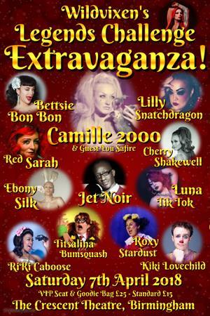 Wildvixen's Burlesque Hall Of Fame Legends Extravaganza 2017