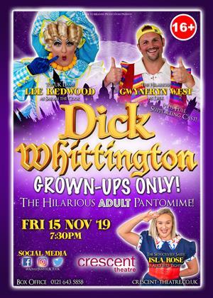 Dick Whittington - Grown Ups Only!