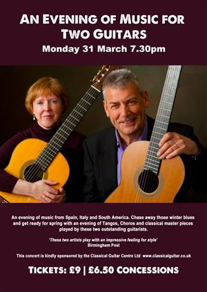 An Evening of Music for Two Guitars 2013