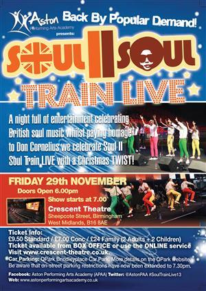 Soul II Soul Live Train