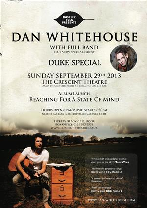 Dan Whitehouse with Full Band