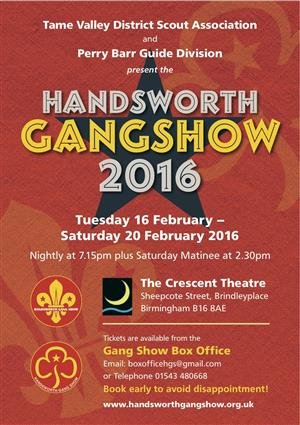 Handsworth Gang Show 2016