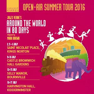 Around The World In 80 Days @ Castle Bromwich Hall Gardens