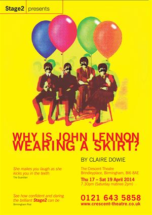 Why is John Lennon Wearing a Skirt?
