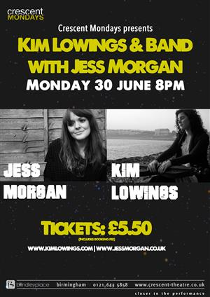 Kim Lowings & Band With Jess Morgan