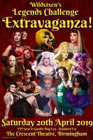 Wildvixen's Legends Challenge Extravaganza! 2019