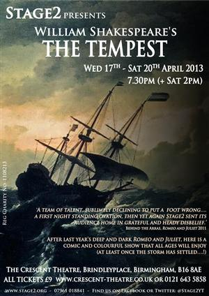 The Tempest by Stage 2