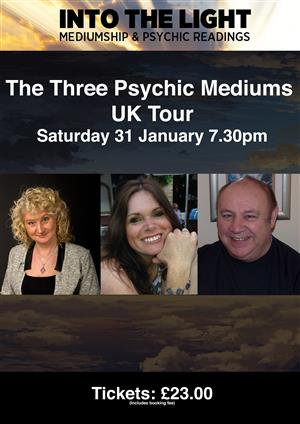 The Three Psychic Mediums - UK Tour