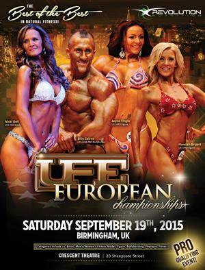 UFE European Championships - Pre-Judging 2015