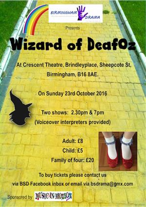 The Wizard of Deaf Oz