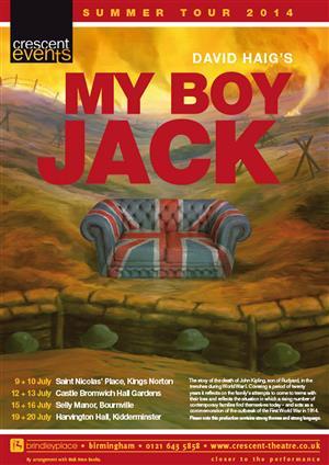 My Boy Jack - St Nicholas' Place