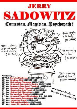 Comedian, Magician, Psychopath 2014!