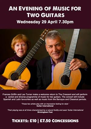 An Evening of Music for Two Guitars