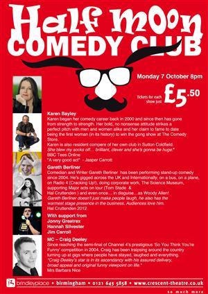 Half Moon Comedy Club 2013