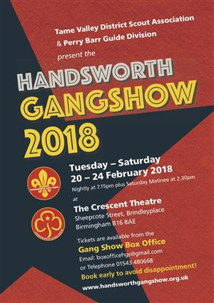 Handsworth Gang Show 2018