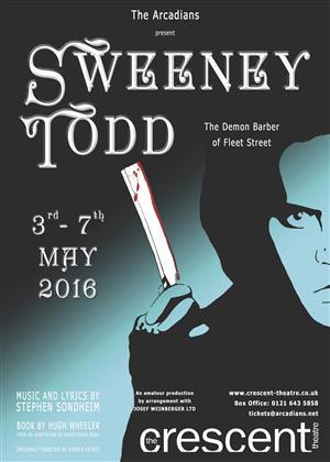 Sweeney Todd -Arcadians 2016