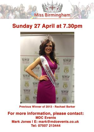 Miss Birmingham 2014