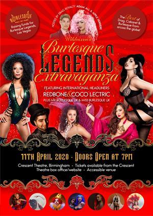 Wildvixen's Burlesque Legend's Extravaganza!