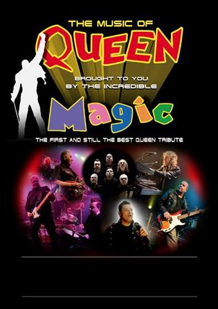 History of Queen Starring Magic