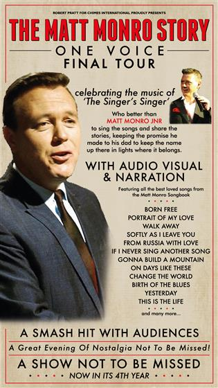 Matt Monro Jr: The Matt Monro Story