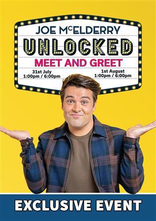 Joe McElderry Unlocked 2 Meet and Greet