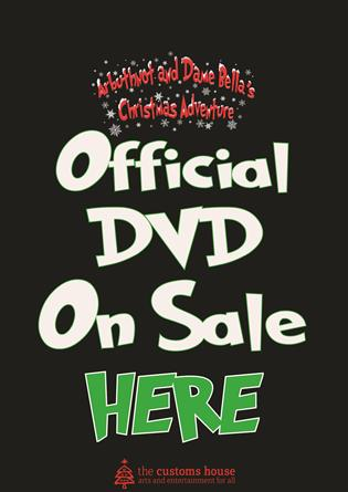 Preorder DVD Arbuthnot & Dame Bella's Christmas Adventure