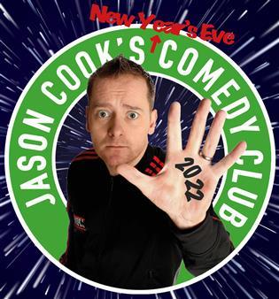 Jason Cook NYE Comedy Club