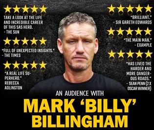 Mark 'Billy' Billingham An Audience With
