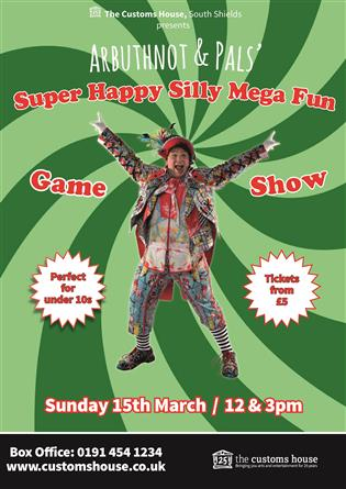 Arbuthnot Super Happy Silly Mega Fun Game Show