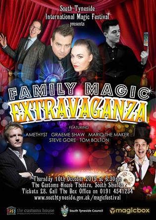 South Tyneside Family Magic Extravaganza