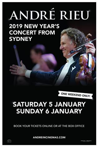 Andre Rieu 2019 New Year's Concert in Sydney