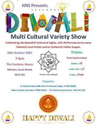 Hindu Nari Sangh presents DIWALI Multi Cultural Variety Show