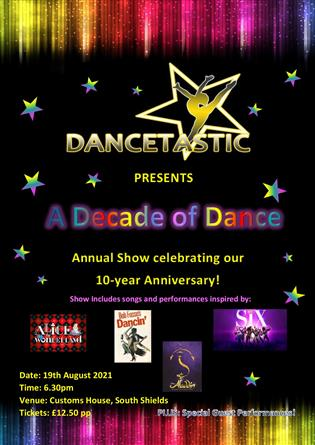 Dancetastic presents 10 YEARS ON