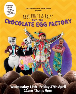 Arbuthnot and Pals and the Chocolate Egg Factory