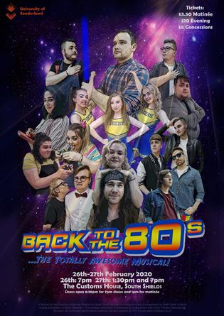 University of Sunderland Presents Back to the 80s