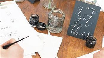 Crafted: Modern Calligraphy