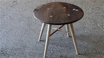 Crafted: Woodworking: Side Table, weekend course - FULL