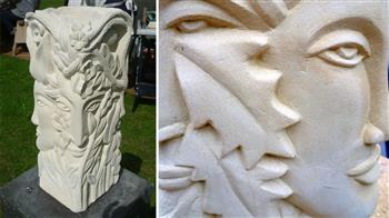 Stone carving: Art deco in relief (weekly course)