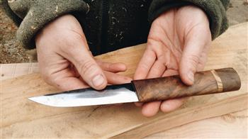 Crafted: Hand-Forged Knife, three-day course