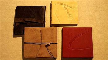 Crafted: Make your own Leather Notebook, one-day course