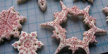 Crafted: Homemade Festive Gifts - Salt Dough Tree Decorations
