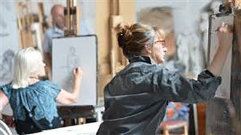 Crafted: All Day Life Drawing Class