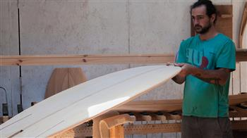 Crafted: Build a Custom Wooden Surfboard - six day course