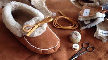 Crafted: Shearling Moccasin Making (2 Day Workshop)