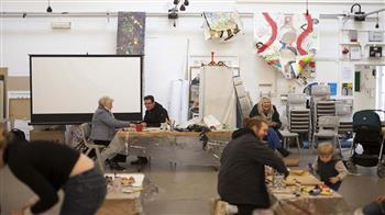 Arts Lab: Intergenerational afternoon of making and sensory play