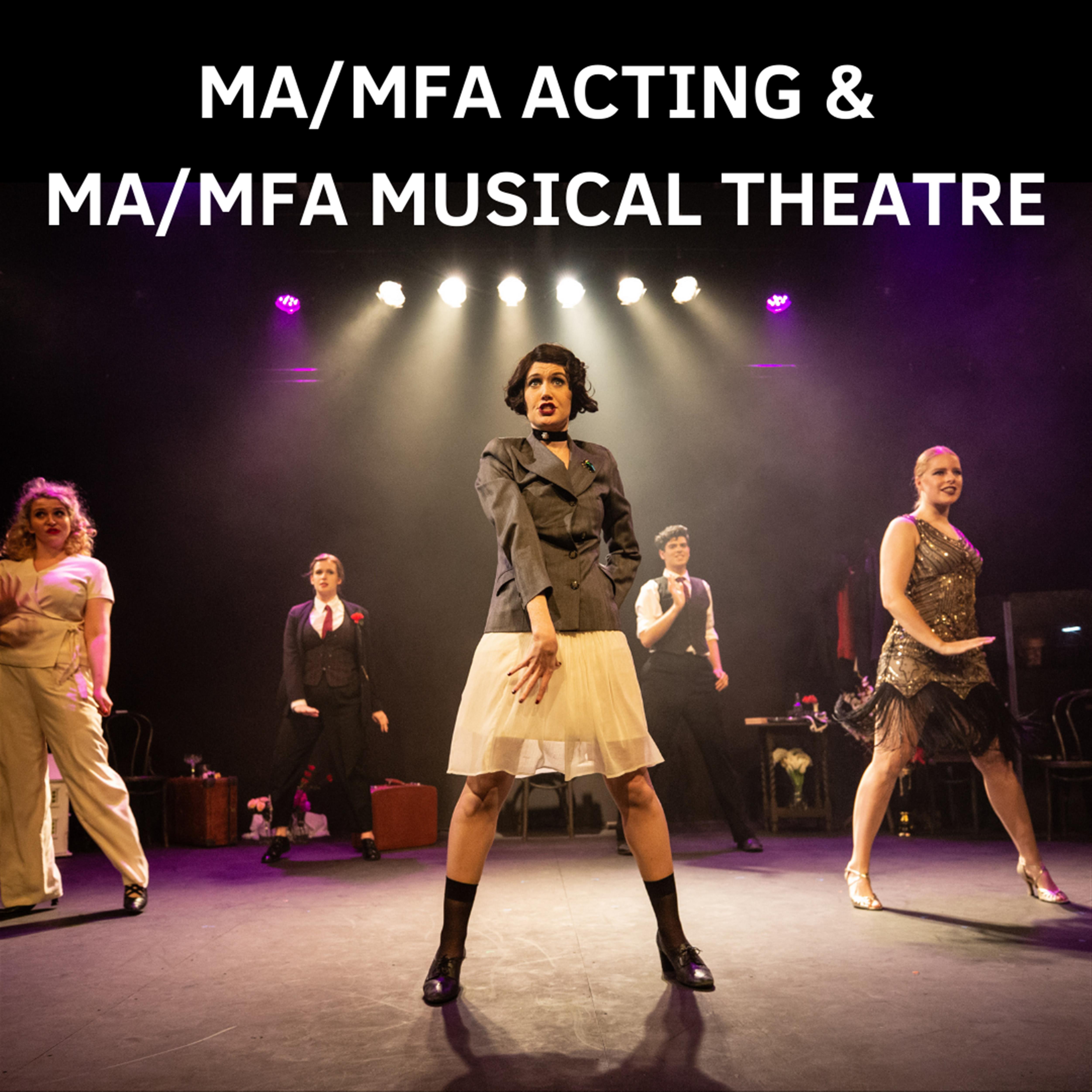 MA/MFA Acting & MA/MFA Musical Theatre Showcase